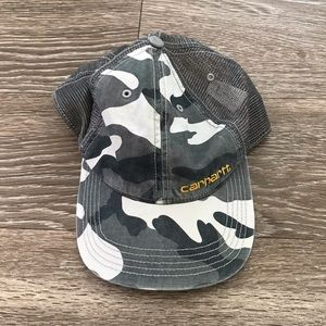 CARHARTT ARMY GREEN TRUCKER BASEBALL CAP
